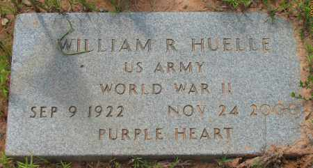 HUELLE (VETERAN WWII), WILLIAM R - Pope County, Arkansas | WILLIAM R HUELLE (VETERAN WWII) - Arkansas Gravestone Photos