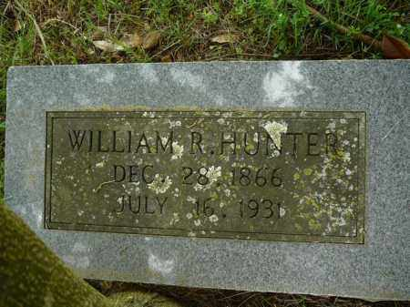 HUNTER, WILLIAM R. - Pope County, Arkansas | WILLIAM R. HUNTER - Arkansas Gravestone Photos