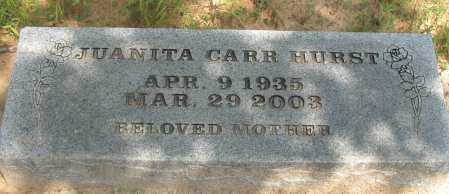 HURST, JUANITA - Pope County, Arkansas | JUANITA HURST - Arkansas Gravestone Photos