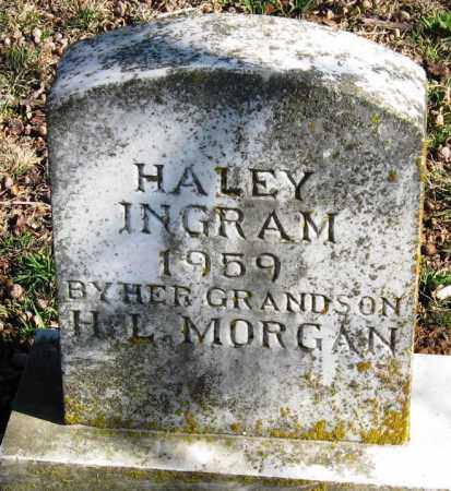 INGRAM, HALEY - Pope County, Arkansas | HALEY INGRAM - Arkansas Gravestone Photos