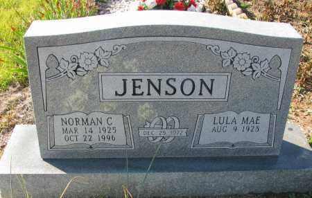 JENSON, NORMAN C - Pope County, Arkansas | NORMAN C JENSON - Arkansas Gravestone Photos