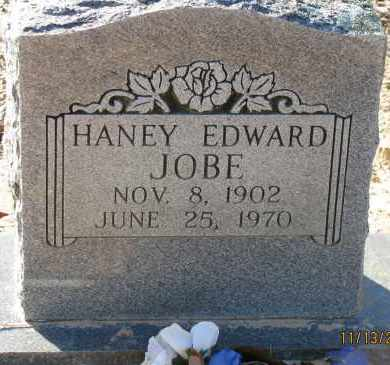 JOBE, HANEY EDWARD - Pope County, Arkansas | HANEY EDWARD JOBE - Arkansas Gravestone Photos