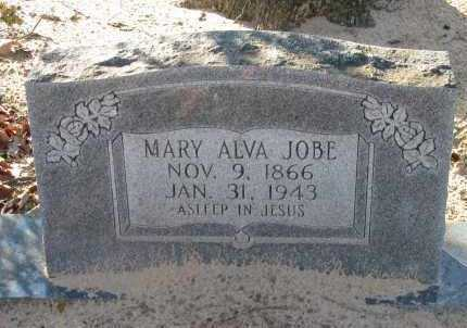 JOBE, MARY ALVA - Pope County, Arkansas | MARY ALVA JOBE - Arkansas Gravestone Photos