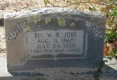 JOBE, REV  W R - Pope County, Arkansas | REV  W R JOBE - Arkansas Gravestone Photos