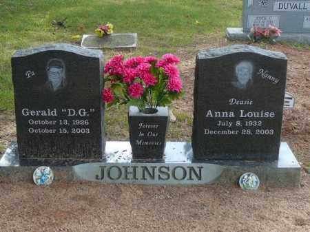JOHNSON, ANNA - Pope County, Arkansas | ANNA JOHNSON - Arkansas Gravestone Photos