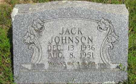 JOHNSON, JACK - Pope County, Arkansas | JACK JOHNSON - Arkansas Gravestone Photos