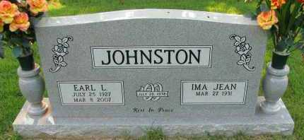 JOHNSTON, EARL L - Pope County, Arkansas | EARL L JOHNSTON - Arkansas Gravestone Photos