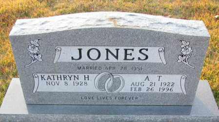 JONES, A  T - Pope County, Arkansas | A  T JONES - Arkansas Gravestone Photos