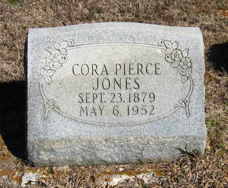 PIERCE JONES, CORA - Pope County, Arkansas | CORA PIERCE JONES - Arkansas Gravestone Photos