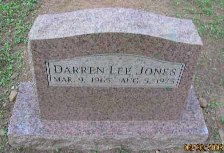 JONES, DARREN LEE - Pope County, Arkansas | DARREN LEE JONES - Arkansas Gravestone Photos
