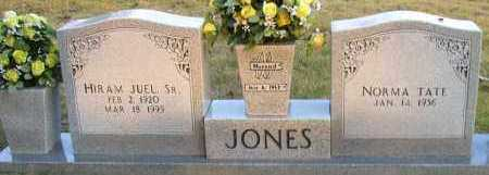 JONES,SR, HIRAM JUEL - Pope County, Arkansas | HIRAM JUEL JONES,SR - Arkansas Gravestone Photos
