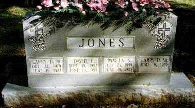 JONES, JR, LARRY D - Pope County, Arkansas | LARRY D JONES, JR - Arkansas Gravestone Photos
