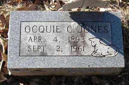 JONES, OCQUIE C - Pope County, Arkansas | OCQUIE C JONES - Arkansas Gravestone Photos