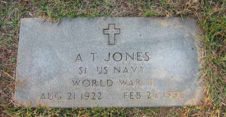 JONES (VETERAN WWII), A T - Pope County, Arkansas | A T JONES (VETERAN WWII) - Arkansas Gravestone Photos
