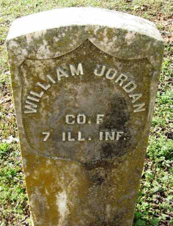 JORDAN  (VETERAN UNION), WILLIAM - Pope County, Arkansas | WILLIAM JORDAN  (VETERAN UNION) - Arkansas Gravestone Photos