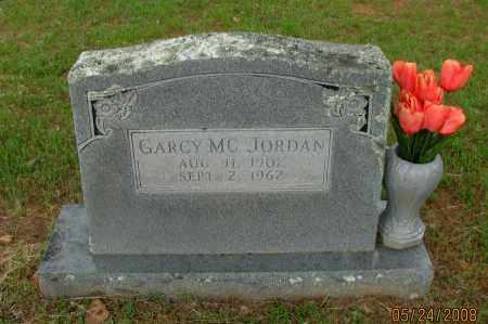JORDAN, GARCY MCKINLEY - Pope County, Arkansas | GARCY MCKINLEY JORDAN - Arkansas Gravestone Photos
