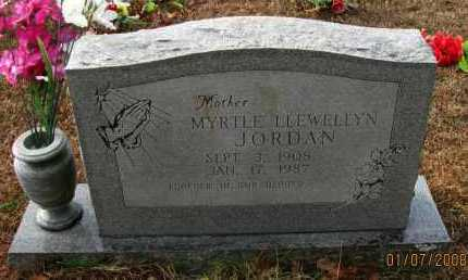JORDAN, MYRTLE - Pope County, Arkansas | MYRTLE JORDAN - Arkansas Gravestone Photos