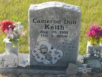 KEITH, CAMERON DON - Pope County, Arkansas | CAMERON DON KEITH - Arkansas Gravestone Photos