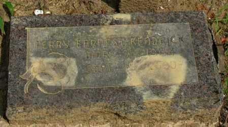 KENDRICK, PERRY EARNEST - Pope County, Arkansas | PERRY EARNEST KENDRICK - Arkansas Gravestone Photos