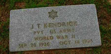KENDRICK (VETERAN WWII), J T - Pope County, Arkansas | J T KENDRICK (VETERAN WWII) - Arkansas Gravestone Photos