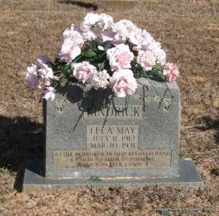 KINDRICK, LELA MAY - Pope County, Arkansas | LELA MAY KINDRICK - Arkansas Gravestone Photos
