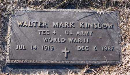 KINSLOW  (VETERAN WWII), WALTER MARK - Pope County, Arkansas | WALTER MARK KINSLOW  (VETERAN WWII) - Arkansas Gravestone Photos