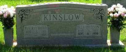 KINSLOW, REV. RAYMOND - Pope County, Arkansas | REV. RAYMOND KINSLOW - Arkansas Gravestone Photos