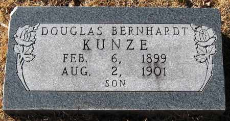 KUNZE, DOUGLAS BERNHARDT - Pope County, Arkansas | DOUGLAS BERNHARDT KUNZE - Arkansas Gravestone Photos