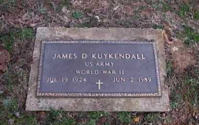 KUYKENDALL (VETERAN WWII), JAMES D - Pope County, Arkansas | JAMES D KUYKENDALL (VETERAN WWII) - Arkansas Gravestone Photos