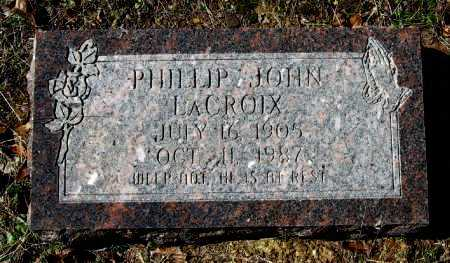 LACROIX, PHILLIP JOHN - Pope County, Arkansas | PHILLIP JOHN LACROIX - Arkansas Gravestone Photos