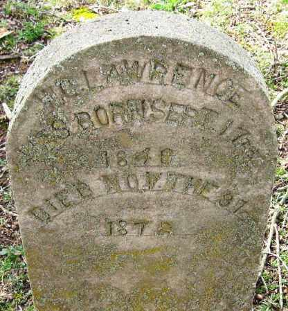LAWRENCE, W  C - Pope County, Arkansas | W  C LAWRENCE - Arkansas Gravestone Photos