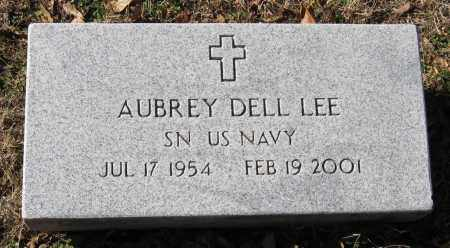 LEE  (VETERAN), AUBREY DELL - Pope County, Arkansas | AUBREY DELL LEE  (VETERAN) - Arkansas Gravestone Photos