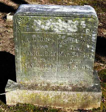 LEGGETT, ABSOLOM E - Pope County, Arkansas | ABSOLOM E LEGGETT - Arkansas Gravestone Photos