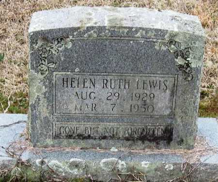 LEWIS, HELEN RUTH - Pope County, Arkansas | HELEN RUTH LEWIS - Arkansas Gravestone Photos