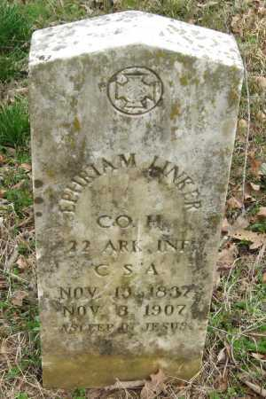 LINKER  (VETERAN CSA), EPHRIAM - Pope County, Arkansas | EPHRIAM LINKER  (VETERAN CSA) - Arkansas Gravestone Photos