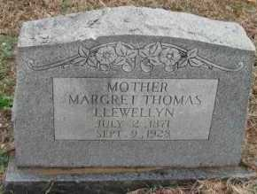 LLEWELLYN, MARGRET - Pope County, Arkansas | MARGRET LLEWELLYN - Arkansas Gravestone Photos