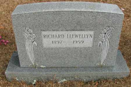 LLEWELLYN, RICHARD - Pope County, Arkansas | RICHARD LLEWELLYN - Arkansas Gravestone Photos