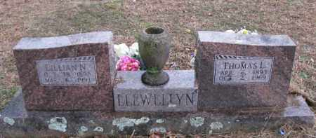 LLEWELLYN, LILLIAN N - Pope County, Arkansas | LILLIAN N LLEWELLYN - Arkansas Gravestone Photos