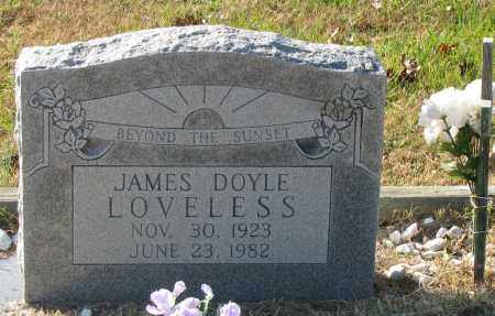 LOVELESS, JAMES DOYLE - Pope County, Arkansas | JAMES DOYLE LOVELESS - Arkansas Gravestone Photos