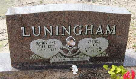 LUNNINGHAM, VERNON LEON - Pope County, Arkansas | VERNON LEON LUNNINGHAM - Arkansas Gravestone Photos
