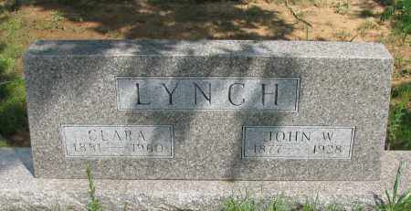 LYNCH, JOHN W - Pope County, Arkansas | JOHN W LYNCH - Arkansas Gravestone Photos