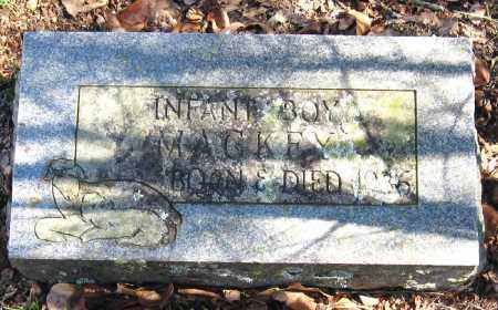 MACKEY, INFANT BOY - Pope County, Arkansas | INFANT BOY MACKEY - Arkansas Gravestone Photos