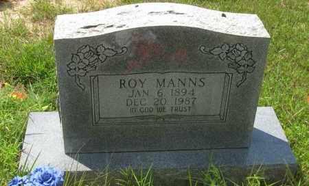 MANNS, ROY - Pope County, Arkansas | ROY MANNS - Arkansas Gravestone Photos