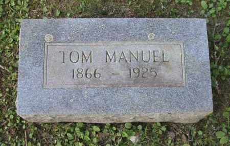 MANUEL, TOM - Pope County, Arkansas | TOM MANUEL - Arkansas Gravestone Photos