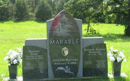 MARABLE, RONALD GENE - Pope County, Arkansas | RONALD GENE MARABLE - Arkansas Gravestone Photos