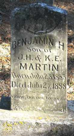 MARTIN, BENJAMIN H - Pope County, Arkansas | BENJAMIN H MARTIN - Arkansas Gravestone Photos