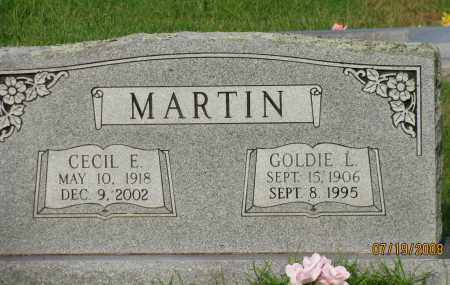MARTIN, CECIL E - Pope County, Arkansas | CECIL E MARTIN - Arkansas Gravestone Photos