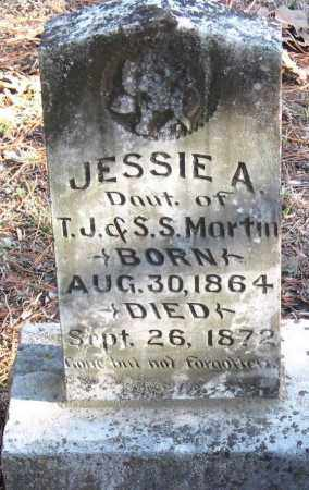 MARTIN, JESSIE A - Pope County, Arkansas | JESSIE A MARTIN - Arkansas Gravestone Photos