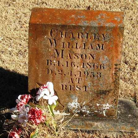 MASON, CHARLEY WILLIAM - Pope County, Arkansas | CHARLEY WILLIAM MASON - Arkansas Gravestone Photos