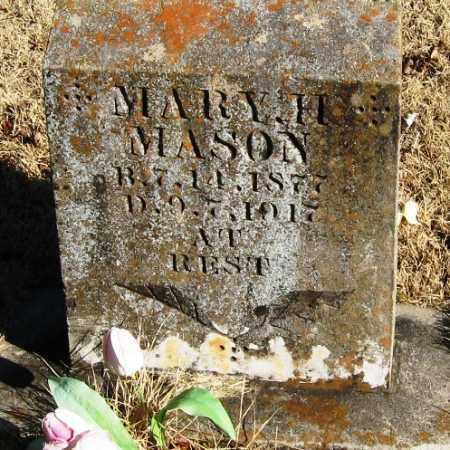 MASON, MARY H - Pope County, Arkansas | MARY H MASON - Arkansas Gravestone Photos